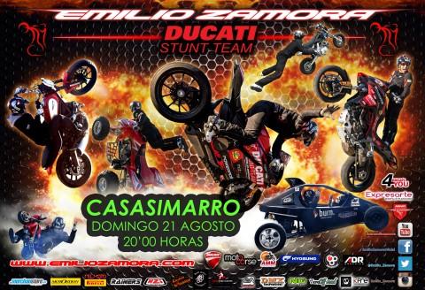 21 AGOSTO... CASASIMARRO STUNT SHOW 2016