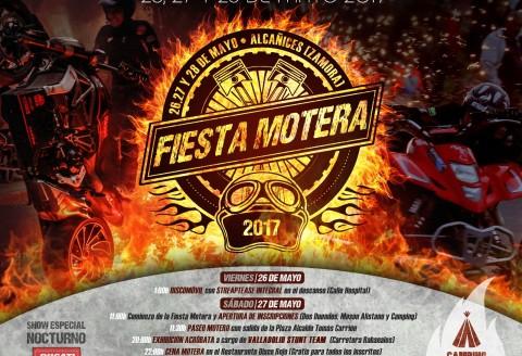 FIESTA MOTERA ALCAÑICES 2017