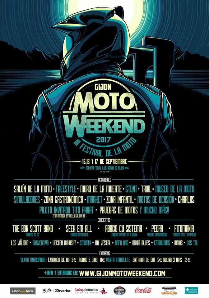 MOTOWEEKEND GIJON 2017_FESTIVAL DE LA MOTO_EMILIO_ZAMORA_DUCATI_STUNT_TEAM_MOTOR SHOW_CONCEIRTOS_PILOTOS_SALON_PRUEBAS_SIMULADORES
