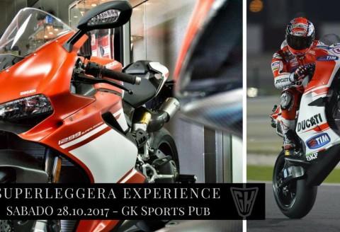 28 octubre -SUPERLEGGERA EXPERIENCE by GK SPORTS PUB