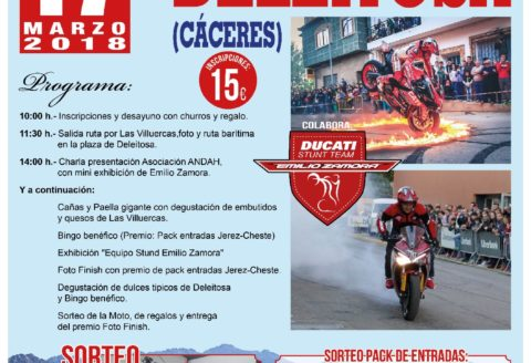 17 MARZO... DELEITOSA - CACERES!