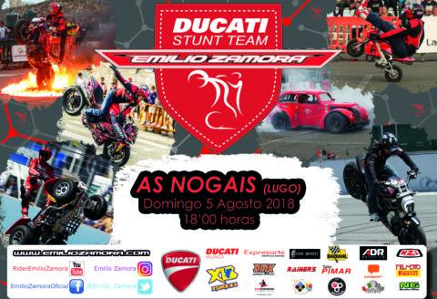 5 agosto... AS NOGAIS - Lugo