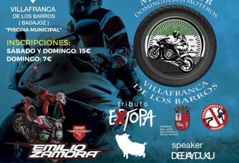 1 y 2 junio... VILLAFRANCA DE LOS BARROS!!