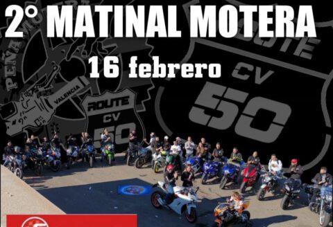 16 febrero - MATINAL MOTERA EN CHIVA