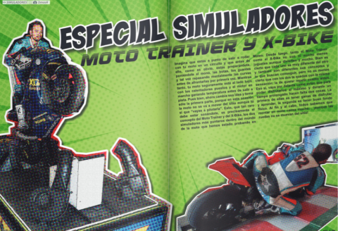 REPOR SIMULADORES MOTO